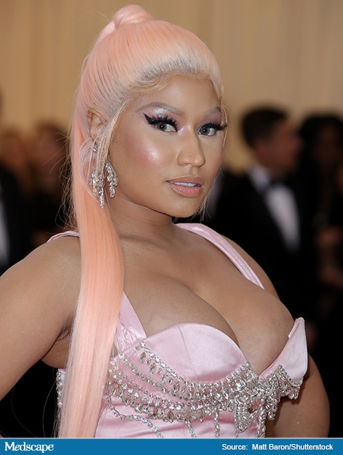 Rapper Nicki Minaj Pays Tuition, Helps Future Black Doctor 4
