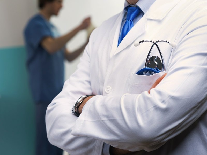 Hang Up Your Lab Coat (What Not to Wear -- for Patient Care)